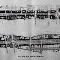 Az Andrássy út első terve, 1870