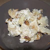 Szalonnás tejfölös sült karfiol
