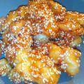 Szezámmagos csirkemell falatok glutén, tej és tojásmentesen