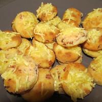 Burgonyás sonkás sajtos pogácsa glutén, tej és tojásmentesen