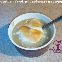 Firin Sütlac - Török sült tejberizs tej és tojásmentesen
