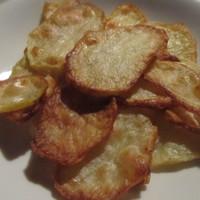 Burgonya chips sűtőben
