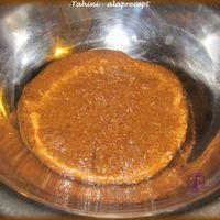Tahini - alaprecept