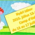Nyári tábor - Camp d'été 2015