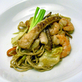 Halas-garnélás capellini