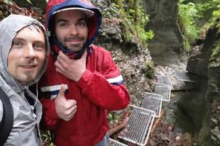 Legyőztük a vihart és eljutottunk a Szlovák Paradicsomba