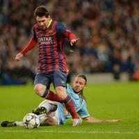 Bajnokok Ligája: Manchester City - Barcelona