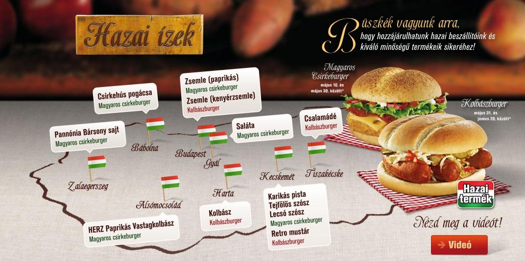 mcdonalds térkép Újra kécskei alapanyag a McDonald's ban   Tiszakécske Blog mcdonalds térkép