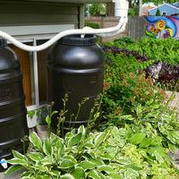 Esővízgyűjtés műanyag tartályban