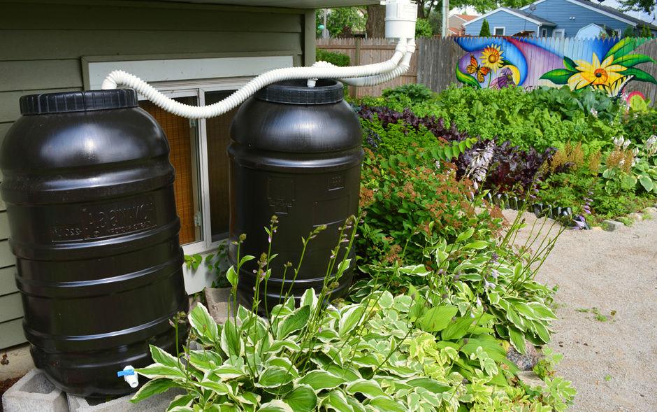 esővízgyűjtő műanyag tartály