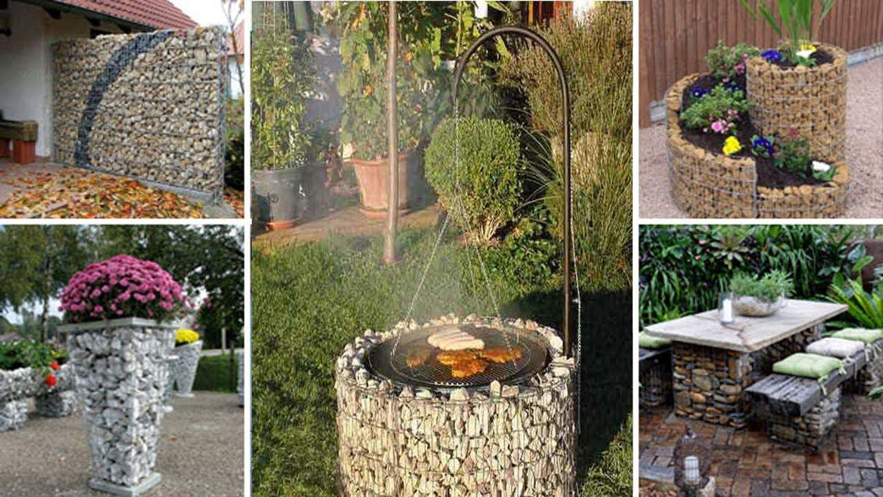 gabion kert - víz fertőtlenítés