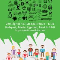 A tavasz legérdekesebb ingyenes, szabad szoftveres rendezvénye: Open IT