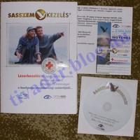 Sasszem lézerkezelés CD, információs füzet