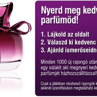 Nyerj parfümöt !