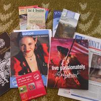 Volvo katalógus, Intrepid katalógus+DVD, Virginia utazási brosúra