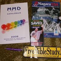 MMD toll, matricák, katalógus