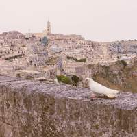 12 kép Matera sziklavárosáról