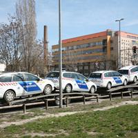 Exrendőrautók az Andor utcában