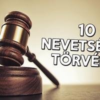 10 nevetséges törvény a világból