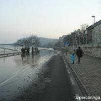 A Duna áradása miatt ismét használható az EuroVelo 6 kerékpárút