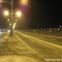 Nem kaptam emléklapot,de áttekertem az újranyitott Margit hídon