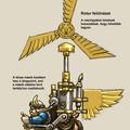 Dwarf Gyrocopter konverziók