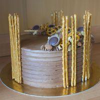 Csokis (sós)karamellás torta