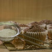 Dupla csokis muffin férfi módra
