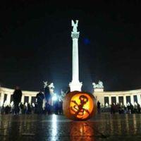 Töklámpás fesztivál Budapest, Töklámpás fesztivál a  Hősök terén