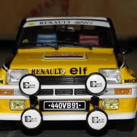 Bemutató: UH Renault 5 Turbo 1:18 - Jean Ragnotti / Jean-Marc Andrié - 1981 Monte Carlo rallye
