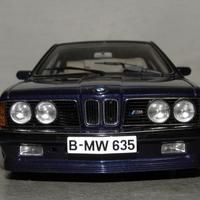 Bemutató: AUTOart BMW M635 CSI 1:18
