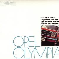 Prospektus: Opel Olympia (1967-1970)