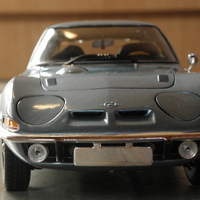 Bemutató: Minichamps Opel GT 1972 1:18