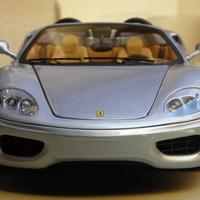 Bemutató: Hotwheels Elite Ferrari 360 Spider 1:18 - Italian Job