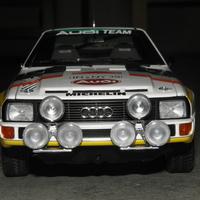 Bemutató: AUTOart Audi Sport Quattro 1:18 - Walter Röhrl / Christian Geistdörfer - 1984 Sanremo rallye