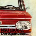 Prospektus: NSU 1000 C (1963-1972)