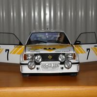 Bemutató: Sun Star Opel Ascona 400 Rally 1:18 - Anders Kullang / Bruno Berglund - 1980 Swedish rallye