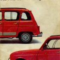 Prospektus: Renault 4 (1961-1992) - A Renault Kacsája