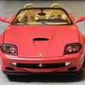 Bemutató: Hotwheels Elite Ferrari 550 Barchetta Pininfarina 1:18