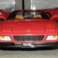 Bemutató: Hotwheels Elite Ferrari 348 tb 1:18 - A mini Testarossa