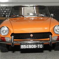 Bemutató: Sun Star Fiat 124 Spider 1:18
