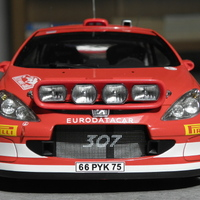 Bemutató: AUTOart Peugeot 307 WRC 1:18 - Markko Martin / Michael Park - 2005 Monte-Carlo rallye
