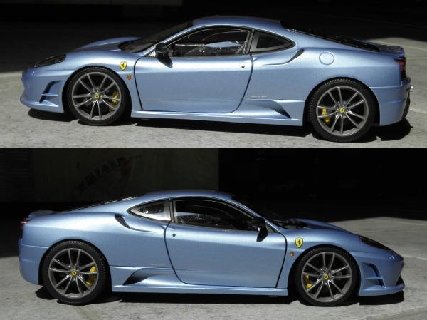Hotwheels Elite Ferrari 430 Scuderia Blue 1-18 (5).jpg