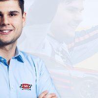 Nagy Dániel a TCR Európa kupában a BRC Hyundai csapatnál