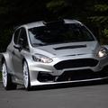 Tesztelik az új Ford Fiesta R5 rallyautót