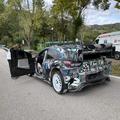 Sebastien Loeb tesztelte a Ford Puma hybrid rallyautót