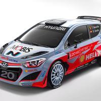 Hyundai I20 WRC műszaki adatai