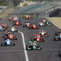 Formula Renault Eurocup a Hungaroringen