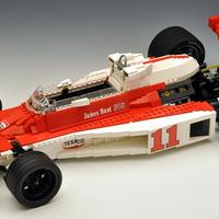 Formula One versenyautók - LEGOból
