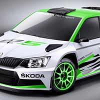 Skoda Fabia R5 rally concept car